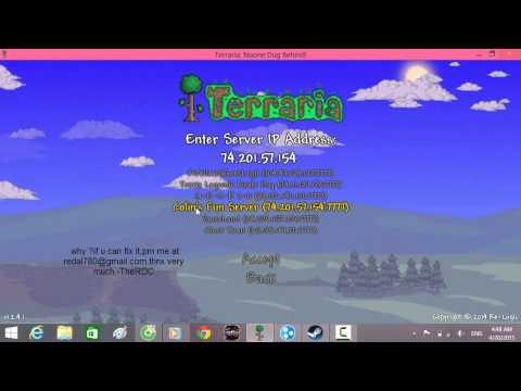 Not Working server Terraria 1.2.4.1