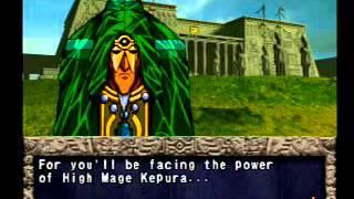 Yu-Gi-Oh! Forbidden Memories - Mago de la Pradera y Kepura