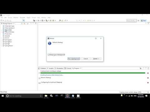 Configure Maven in Eclipse & Create Maven Web Project in Eclipse
