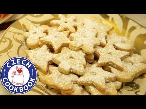 Linzer Christmas Cookie Recipe - Linecké cukroví - Czech Cookbook