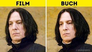 Harry Potter Charaktere: Im Buch vs. In den Filmen