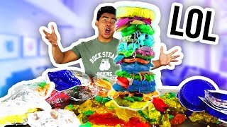 DIY TALLEST GUMMY SANDWICH!