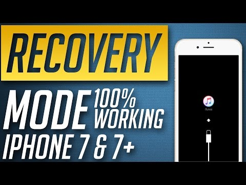 How to Put iPhone 7 & 7 plus in Recovery Mode / Restore Mode