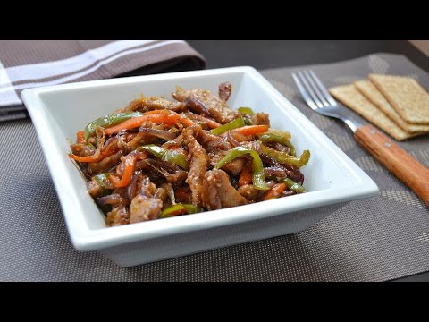 Stir-Fried Beef with Vegetables - Easy Beef & Vegetable Stir-Fry Recipe