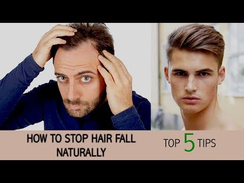 How To Stop Hair Fall Naturally And Grow Hair Faster (Men & Women)
