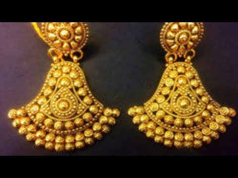 Gold Earring Designs With Price – Latest 2018