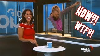 Magician VANISHES on LIVE TV!!