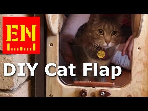 Cat Flap - Built and Rebuilt