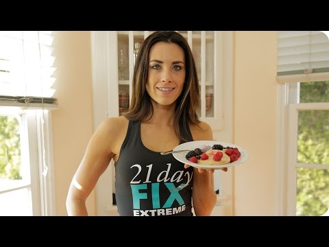 Cashew 'N' Oat Hotcakes Recipe | 21 Day Fix Extreme