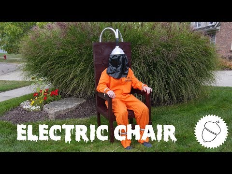 How to Build an Electric Chair | Halloween Lawn Decoration
