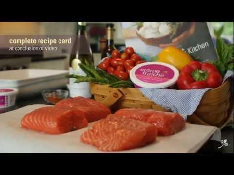 Creme Fraiche Salmon