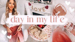 VLOG: Self-care routine + Valentine's Day festivities! ✨