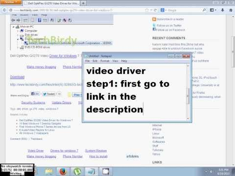 Driver for dell xp video gx270
