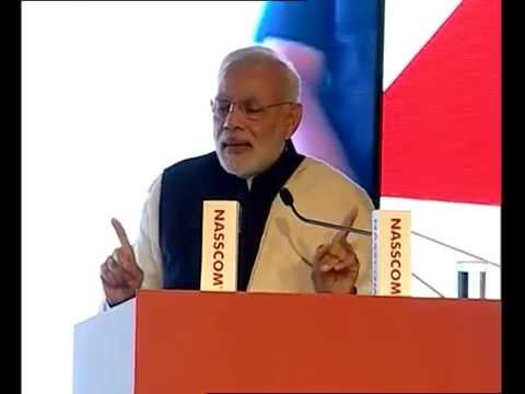 Technology can play a big role in fighting corruption: PM at NASSCOM event