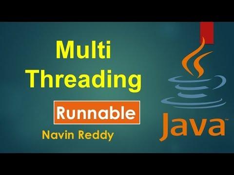 #10.2 Java Tutorial | Multithreading | Runnable Interface