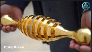 Mysterious gold object found in ancient Israel cemetery