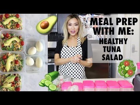Meal Prep With Me: Healthy Tuna Salad + GIVEAWAY!! | Arika Sato