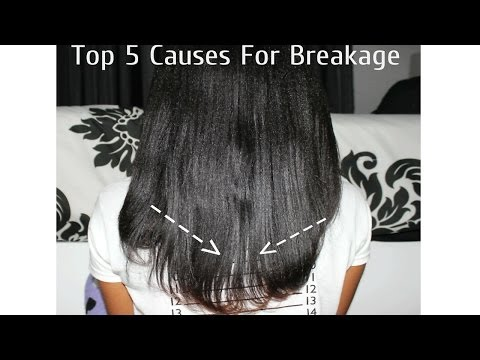 Top 5 Causes For Hair Breakage