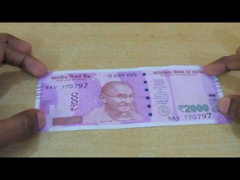 New 2000 Note Review | All About 2000 New Notes | How To Identify Real vs Fake | [Hindi/English]