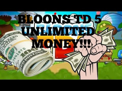 BLOONS TD 5 UNLIMITED MONEY GLITCH!!!!