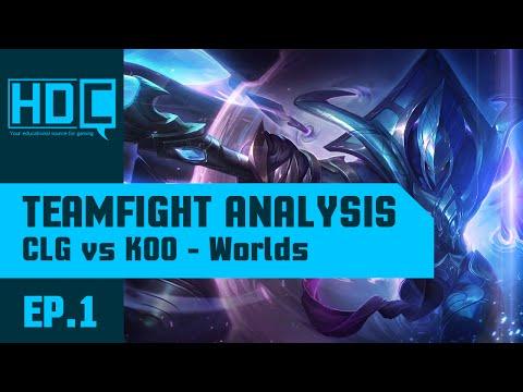 Teamfight Analysis: KOO vs CLG (World Championship Groupstages)