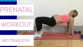 Pregnancy Workout | Third Trimester Fitness Routine Sarah Fit