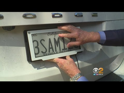 New 'Smart' License Plate Could Help You Avoid DMV Lines, Announce Your Car's Been Stolen, But Is It