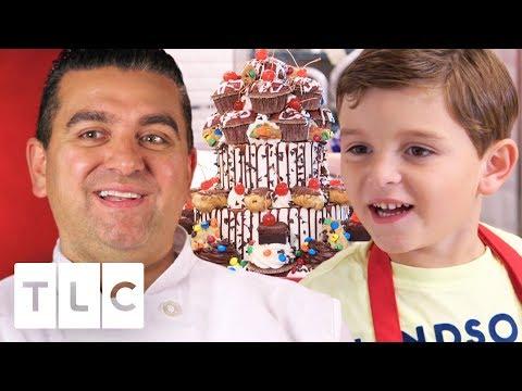 Carlo Helps Buddy Make An Amazing Birthday Cake! | Cake Boss