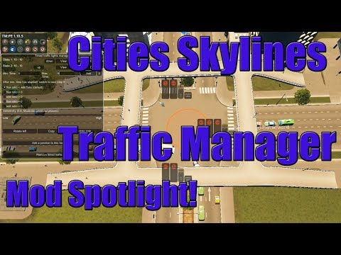 Cities Skylines Traffic Manager Mod