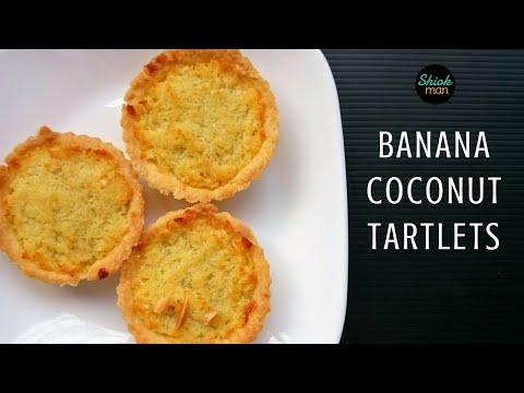 Shiokman Banana Coconut Tartlets