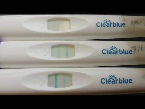 Positive ovulation test - 7 months after depo
