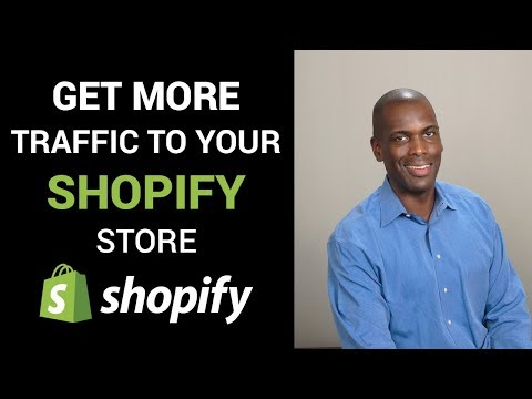How to get more traffic to your Shopify Store without using SEO