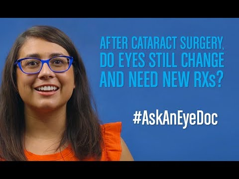 Ask An Eye Doc: Will I still need glasses after cataract surgery?