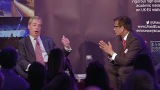 Keynote conversation with Nigel Farage
