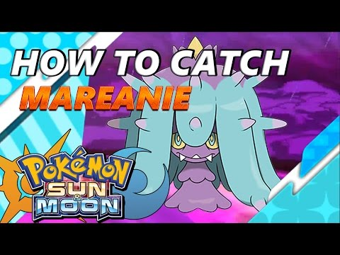 Pokémon Sun and Moon: How to Catch & Find Mareanie - S.O.S. Catching