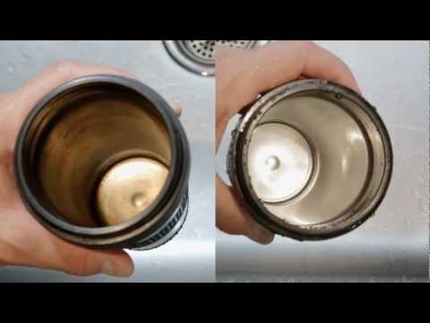 Bottle Bright - Cleaning a Travel Mug