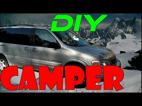 Minivan Camper Weekend Build