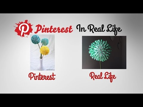 DIY Q-Tip FLowers - Pinterest in Real Life (Anthropology Inspired)