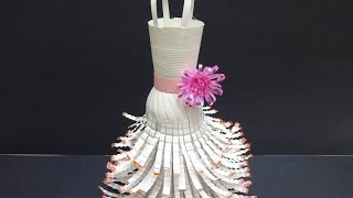 Recycled Craft Ideas: DIY Wedding Dress out of Plastic Bottles | Recycled Bottles Crafts