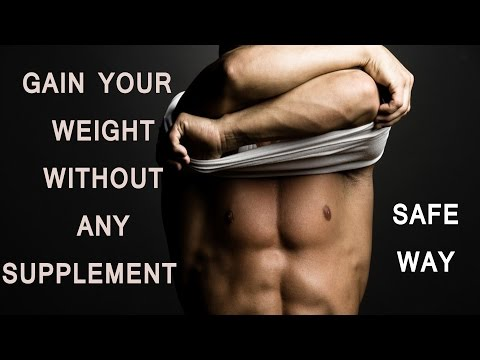 बिना Supplement लिए  वजन बढ़ाए | How To Gain Weight Without Supplement