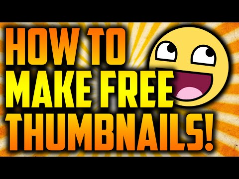 How To Make Thumbnails For FREE With Pixlr!