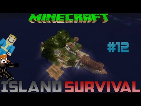 Minecraft Survival Island #12 (Feat. Stek 725) I don't even know...