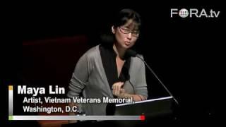 Maya Lin on the Vietnam Veterans Memorial