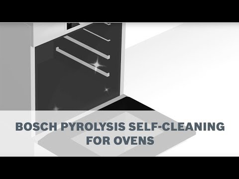 Bosch Pyrolytic Self-Cleaning for Ovens