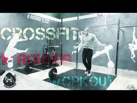 Crossfit workout/10 rounds