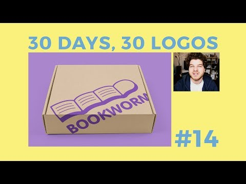 30 Days, 30 Logos #14 - Bookworm