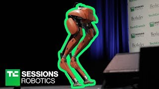 Andy Rubin and the Cassie robot | TC Sessions Robotics 2018