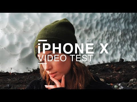 iPHONE X VIDEO TEST - 4K
