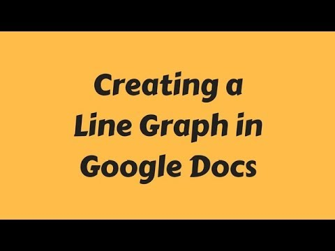 Line Graph in Google Docs