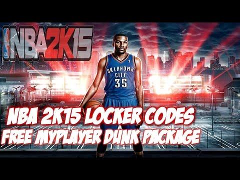 NBA 2K15 LOCKER CODES (NEW) - PS4 PS3 XBOX ONE XBOX 360 PC FREE VC